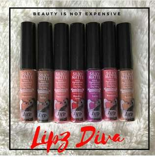 Liquid lippies (silky matte)