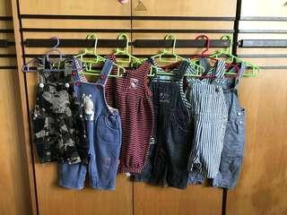 Baby Boy Suspenders (OshKosh,Carters etc)