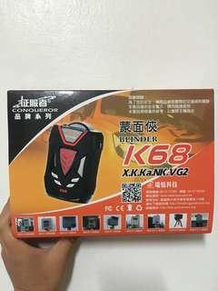 征服者蒙面俠K68雷達偵測器
