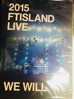 Ft Island -2015 live dvd 親簽版