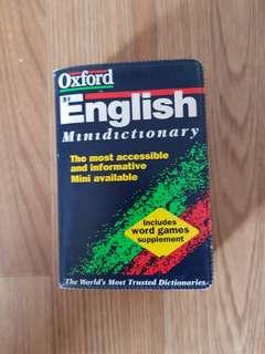Oxford Mini Dictionary