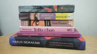 Asian literature (Bundle of 6 books)