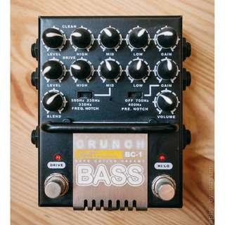 AMT Bass Crunch BC-1 Preamp Drive Pedal