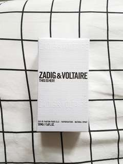 *NEW* ZADIG & VOLTAIRE This Is Her! 50ml EDP