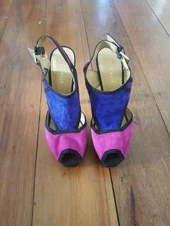 Nine West size 8 heels