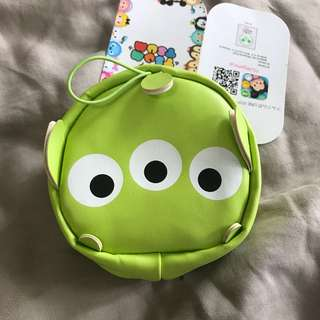 🌈🌟New Tsum Tsum Toy Story Alien Pouch