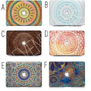 Mandala Series Macbook Cover