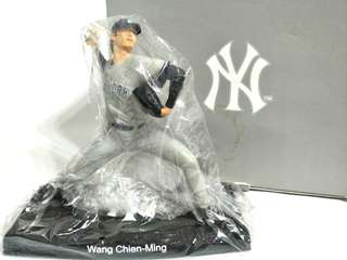 全新美國職棒大聯盟 MLB new york Yankee 洋基 王建民公仔(客場版), qman
