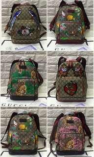 Gucci backpack w/ hk receipt