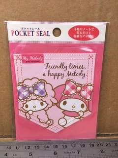 Sanrio My Melody 袋形貼紙 385654