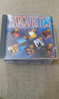 Favourites in originals CD