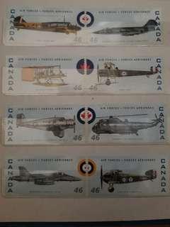 加拿大郵票 16張
