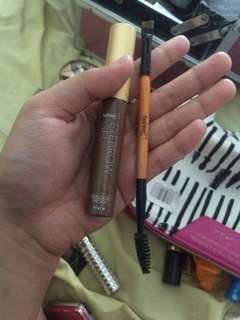 Eyebrow gel & spoolie