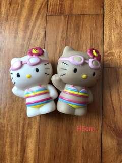 Hello Kitty 2003 Bikini Figurines