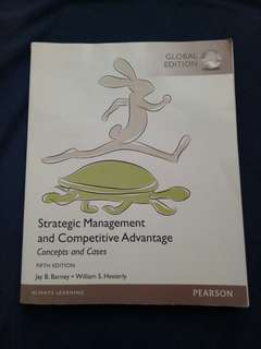 Strategic Management and Competitive Advantage  5th