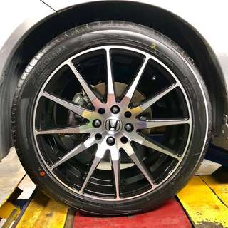 "Honda Shuttle Brand New 17"" Sport Rim Set"