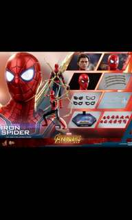 Iron spider man infinity  wars  ( hot toys)