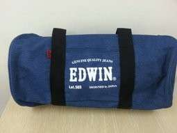 EDWIN 牛仔圓筒包