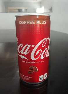 Coca-cola coke Coffee Plus limited edition