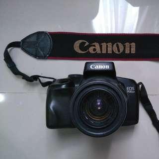 (Kamera Analog) Canon eos 700QD + Canon Zoom Lens  EF 35~80mm f 4 ~ 5.6