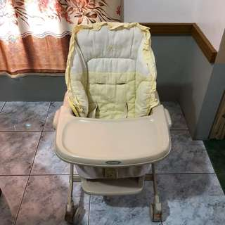 COMBI Swing Bed/High Chair