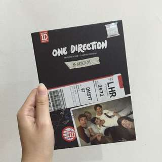 Limited Edition One Direction Yearbook CD