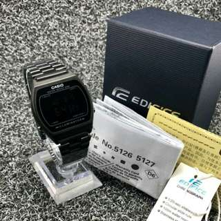 CASIO LADIES BLACK ( GRED AA )