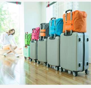 6 Colours- Foldable Travel Hand Carry Cabin Bag Luggage