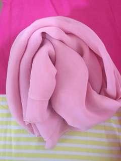 Hijab Chiffon pink