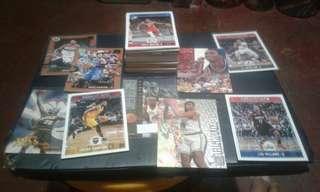 NBA cards with album (binder)
