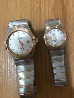 Omega Couple Watch