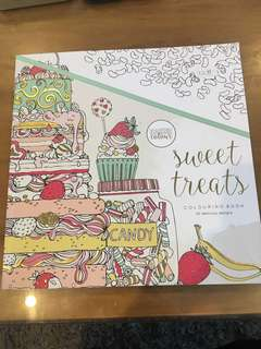 Adult Colouring Book - Sweet Treats