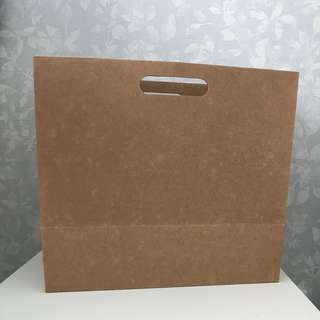 Brown Paper Bags with Base
