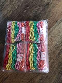 BN girls rubber band 100psc $9