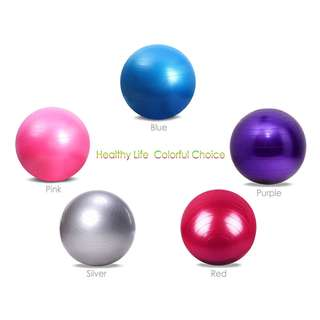 💯 Outlife 65cm PVC Gym Yoga Ball Anti-slip for Fitness Training