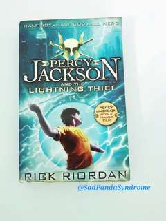 Rick Riordan Book ( The Lightning Thief)
