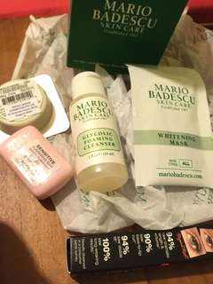 Mario Badescu and stuff from Sephora