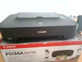 Printer canon ip 2700