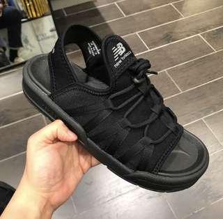 New balance 2018新款全黑涼鞋!