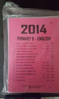 PSLE Exam Papers -English