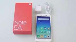 New Xiaomi Note 5A