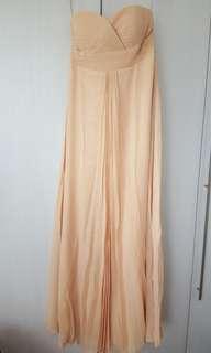BN skin colour tube empire cut dress