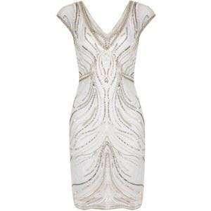 Miss Selfridges Beaded Bodycon Dress