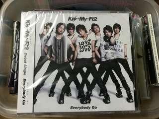 (All 3 CDs) Kis-My-Ft2 Everybody Go