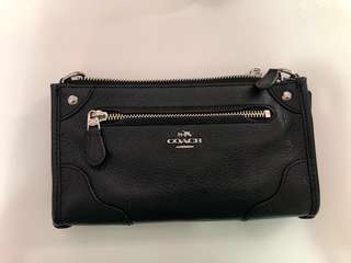 Coach small bag (black) - bought in Japan