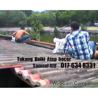 Tukang Baiki Atap Bocor Samsul Alif 017-634 8331