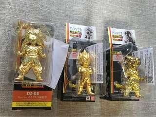 龍珠 超合金塊 (超3悟空-已售) 比達 金色 特別色 (杜拉格司已售)