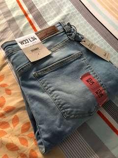 Blue Denim skinny jeans