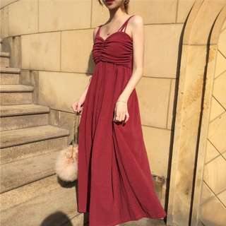 Maxi Cami Dress Dinner Dress Women Fashion Long Dress Evening Dress