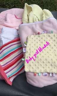 Baby boy & girl blankets